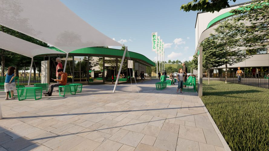 Areál Centra cirkulárnej ekonomiky bude prispôsobený návštevám verejnosti.